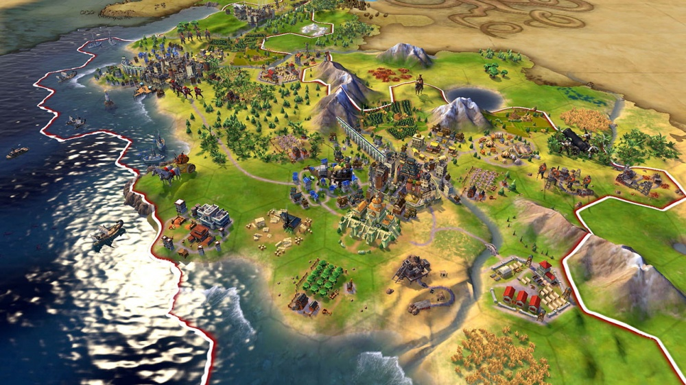 Sid Meier's Civilization VI - Khmer and Indonesia