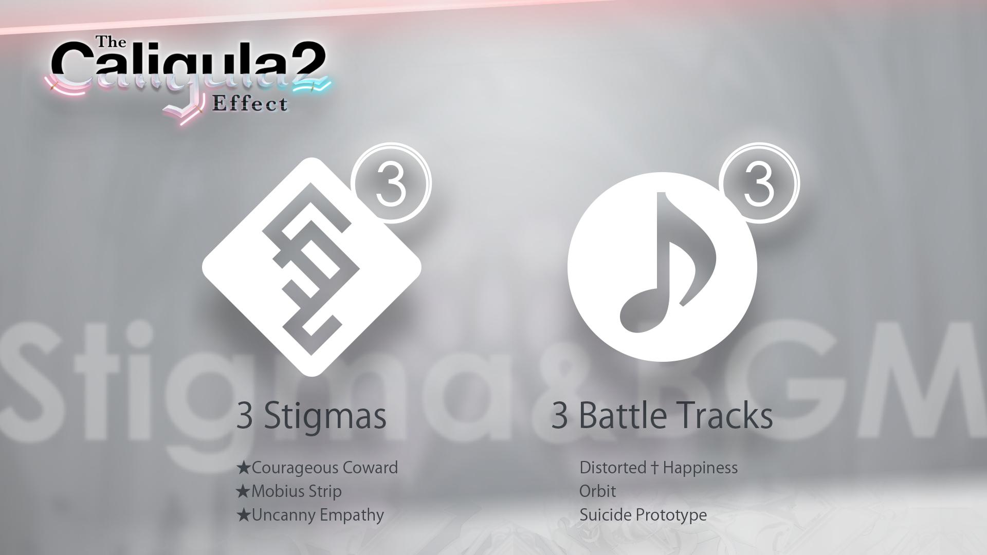 3 Stigmas & 3 Battle Tracks