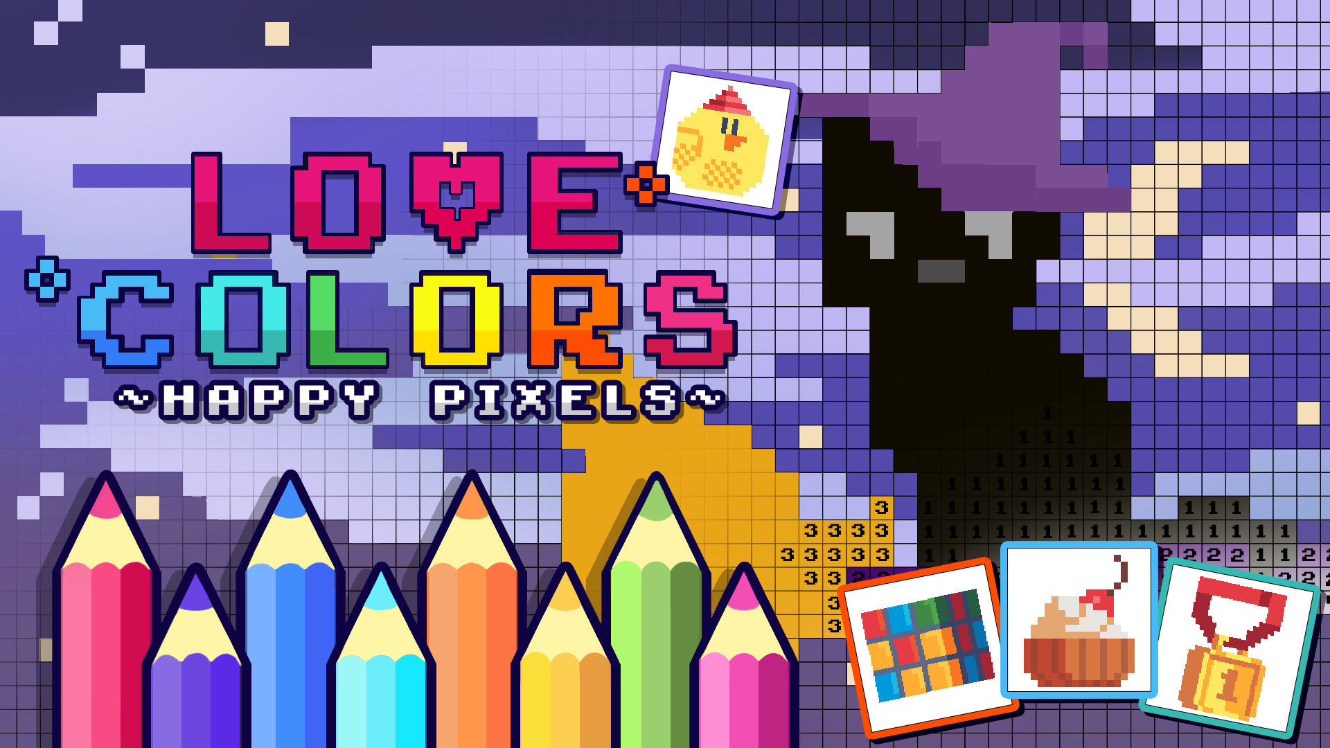 Love Colors - Happy Pixels