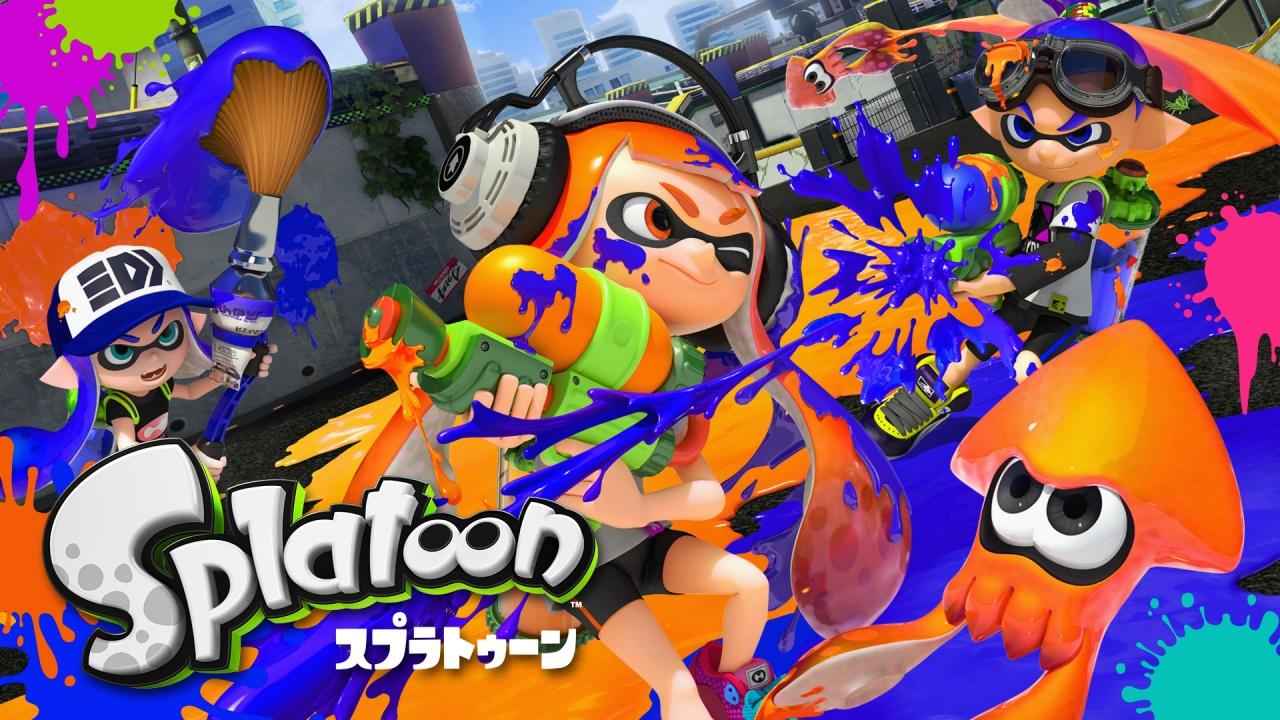 Splatoon スプラトゥーン Wii U 任天堂