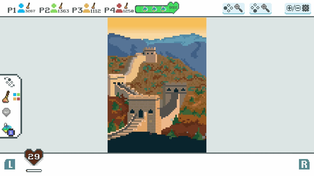 Love Colors - Pixel Adventure