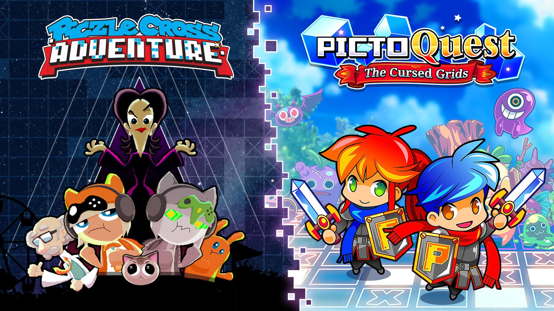 Piczle Puzzle Adventures + Picto Quest Puzzle Bundle