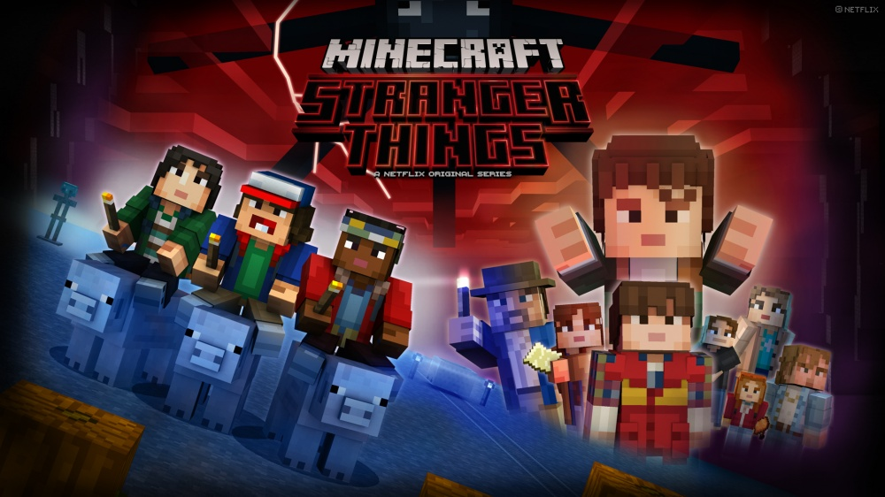 Stranger Things Skin Pack Minecraft Nintendo Switch
