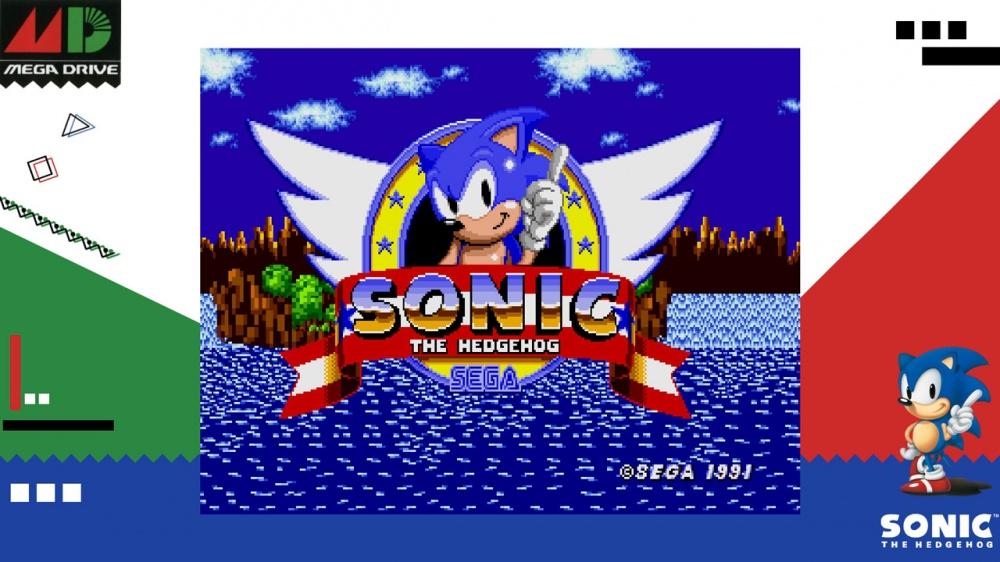Sega Ages Sonic The Hedgehog Nintendo Switch Eshop Download