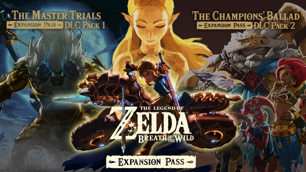 The Legend Of Zelda Breath Of The Wild Expansion Pass Nintendo Switch Nintendo
