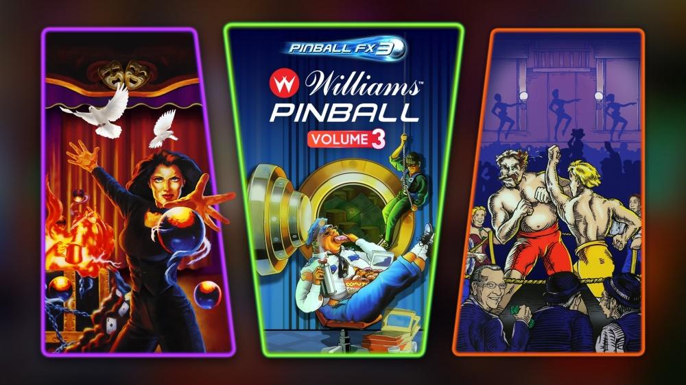 Pinball FX3 - Williams™ Pinball: Volume 3/Pinball FX3