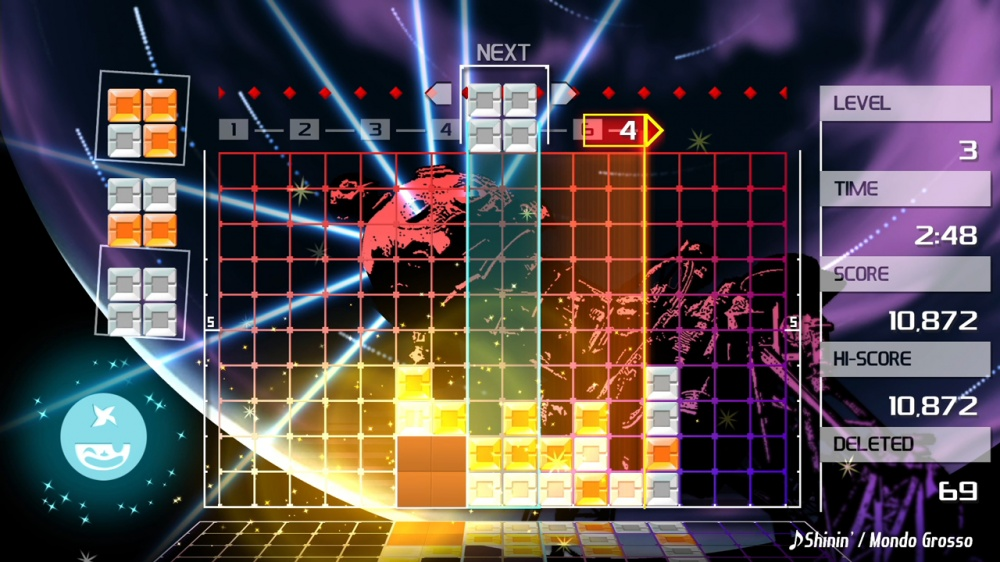Lumines ii (usa) psp / playstation portable iso download | romulation.