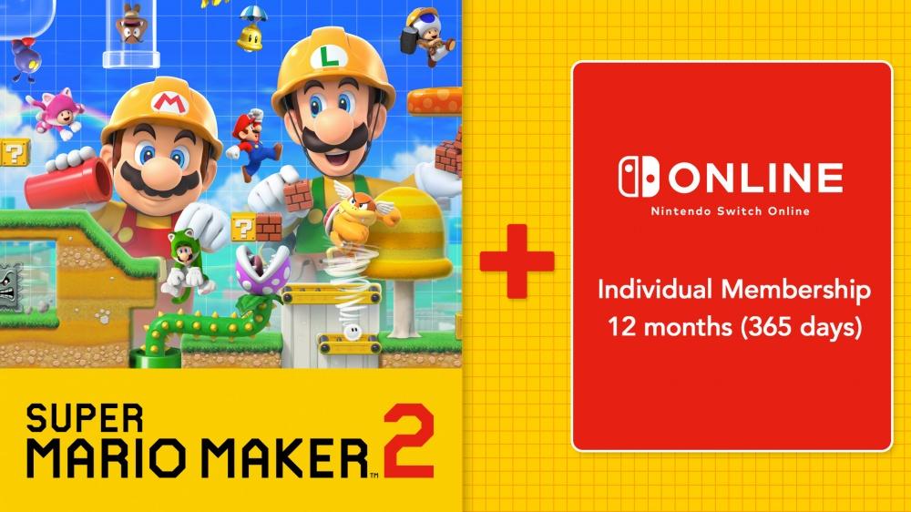 Super Mario Maker™ 2 + Nintendo Switch Online/Nintendo Switch/eShop Download