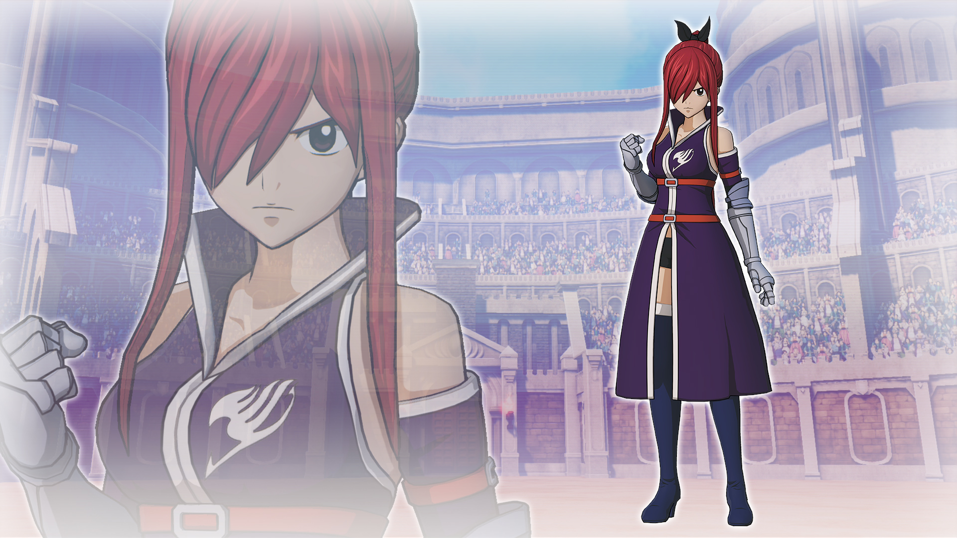 """Erza's Costume """"Fairy Tail Team A"""""""