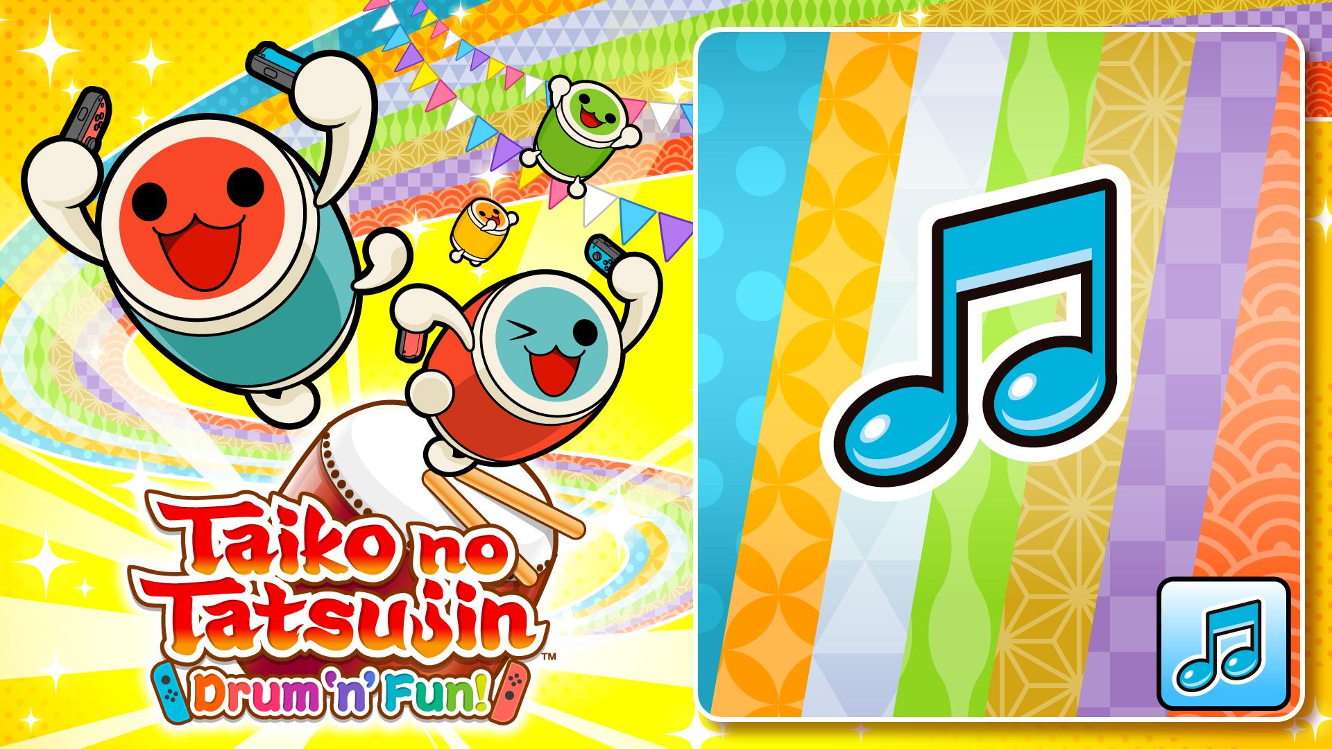 Taiko no Tatsujin: Drum 'n' Fun! Donder Pack -Lightning-
