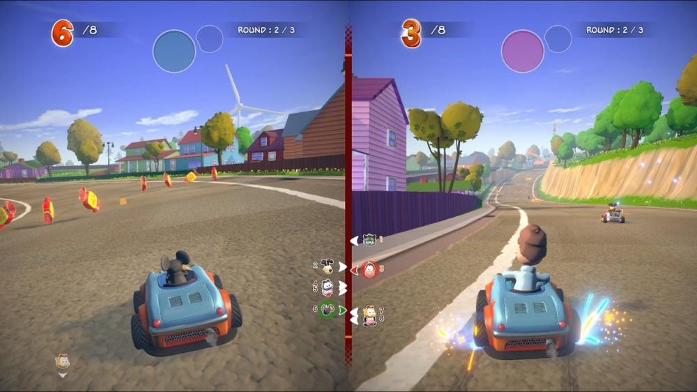 Garfield Kart Furious Racing Nintendo Switch Eshop Download