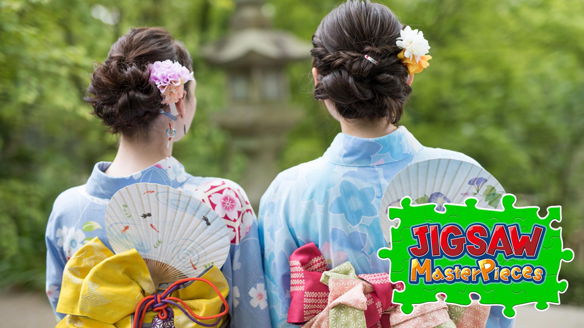 Japanese Summer Scene
