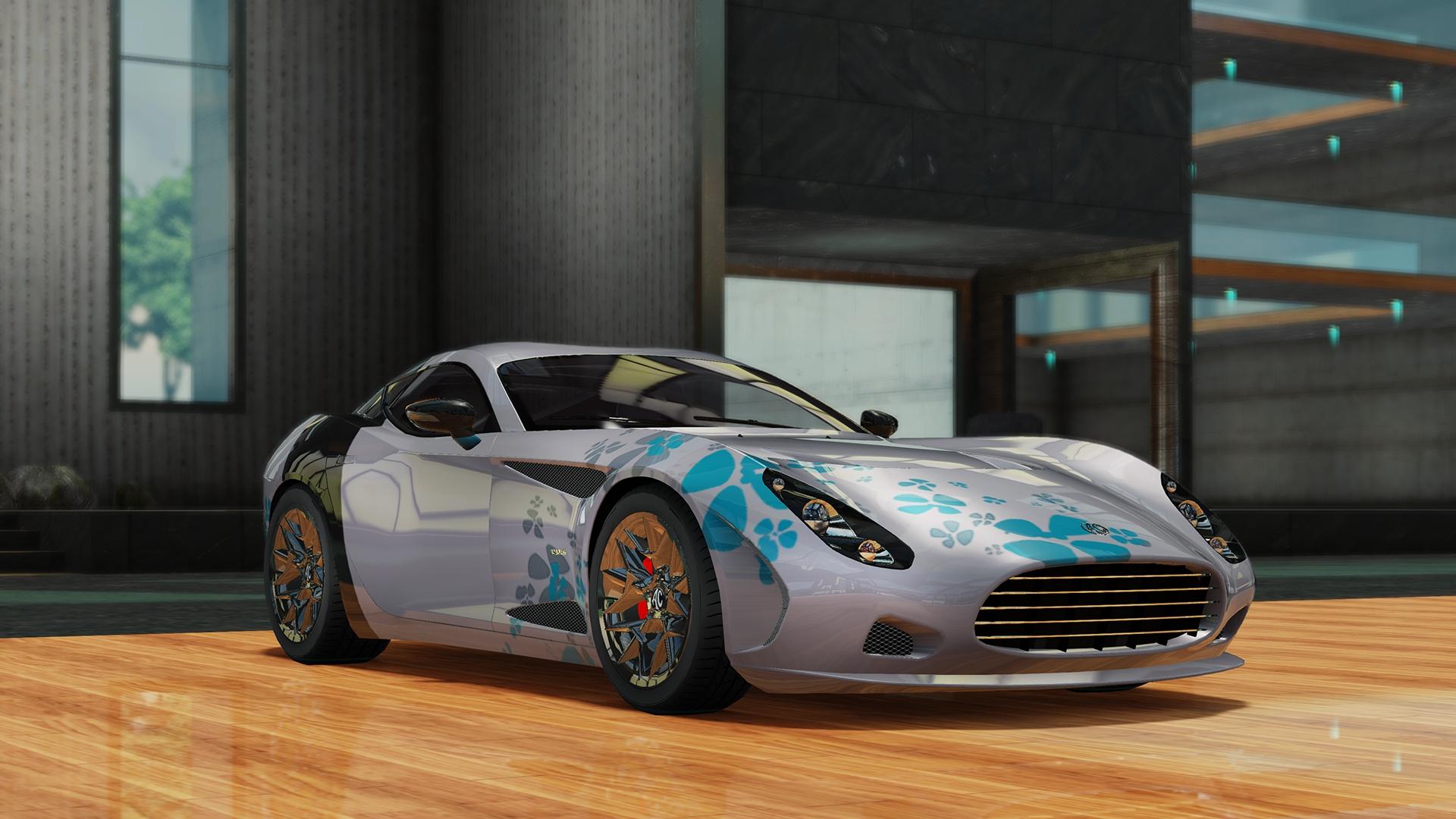 AC 378 GT Zagato Polinesia - Gear.Club Unlimited 2