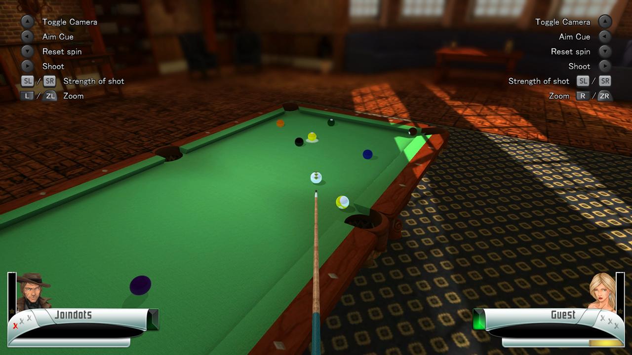 3D Billiards - Pool & Snooker