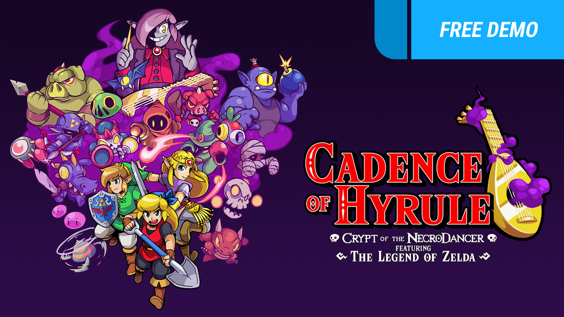 Cadence Of Hyrule Crypt Of The Necrodancer Featuring The Legend