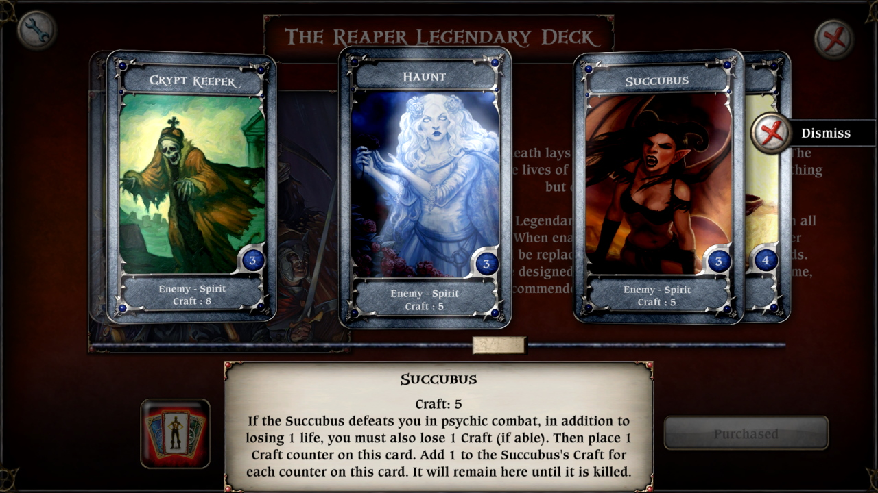 The Reaper: Legendary Deck