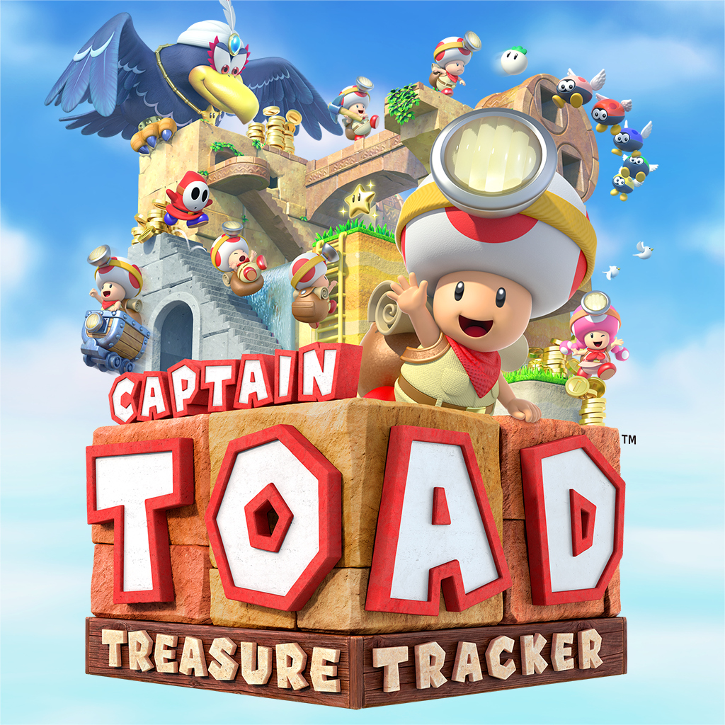 captain toad treasure tracker official icon nintendoswitch