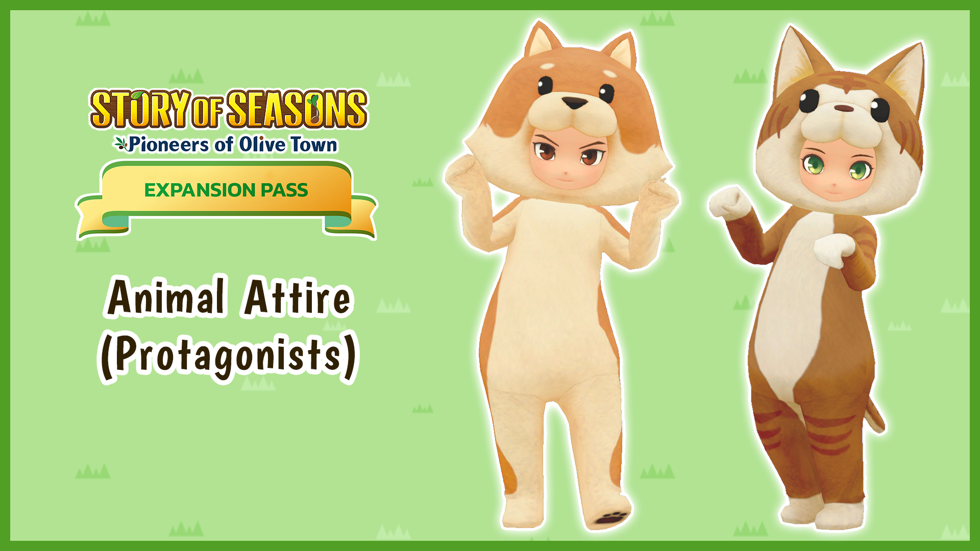 Animal Attire (Protagonists)