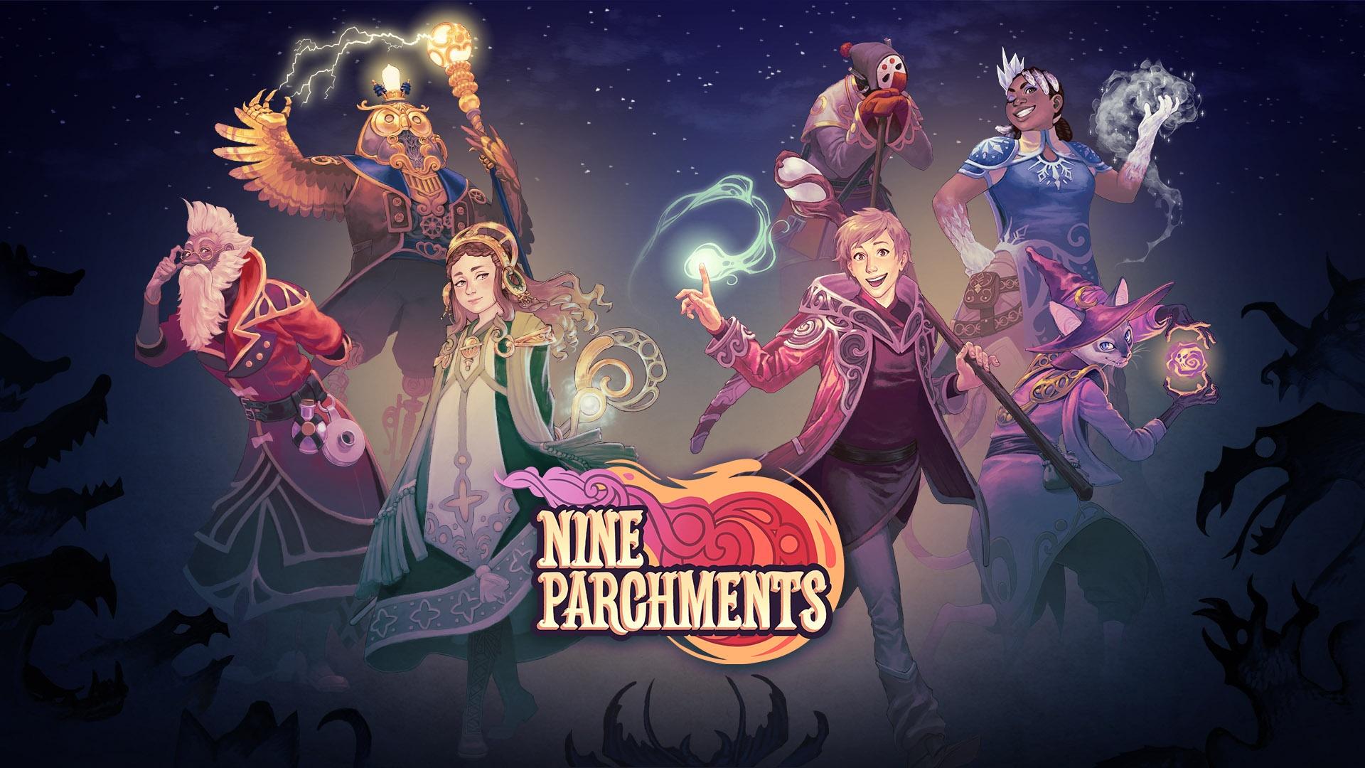 ニンテンドースイッチ:Nine Parchments