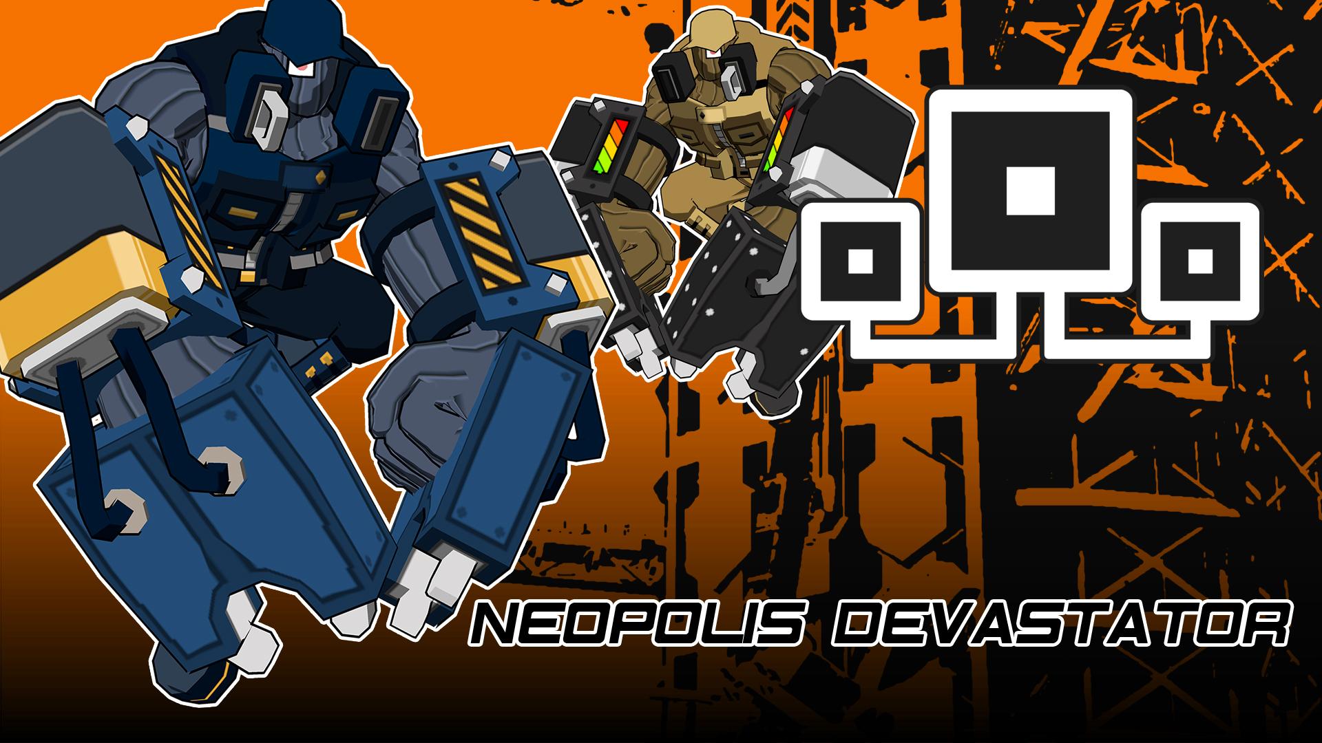 Neopolis Devastator outfit for Grid