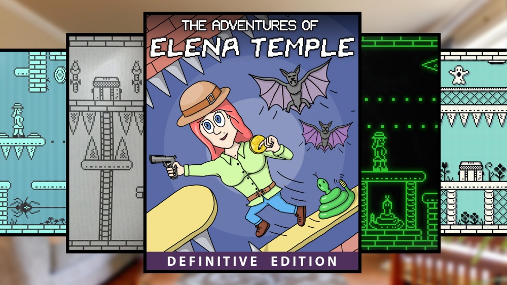 The Adventures Of Elena Temple Definitive Editionnintendo