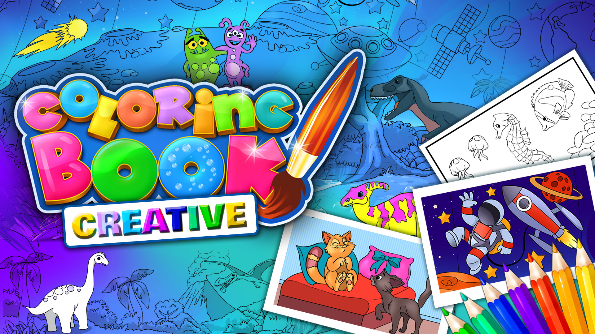 Coloring Book Creative Edition//Nintendo Switch/Nintendo
