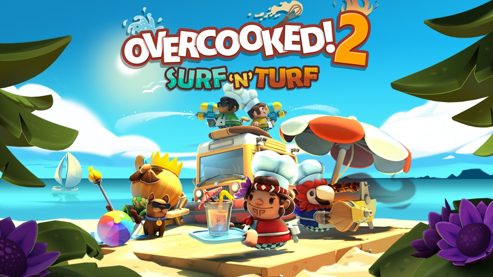Overcooked! 2 - Surf 'n' Turf/Overcooked! 2/Nintendo Switch/Nintendo