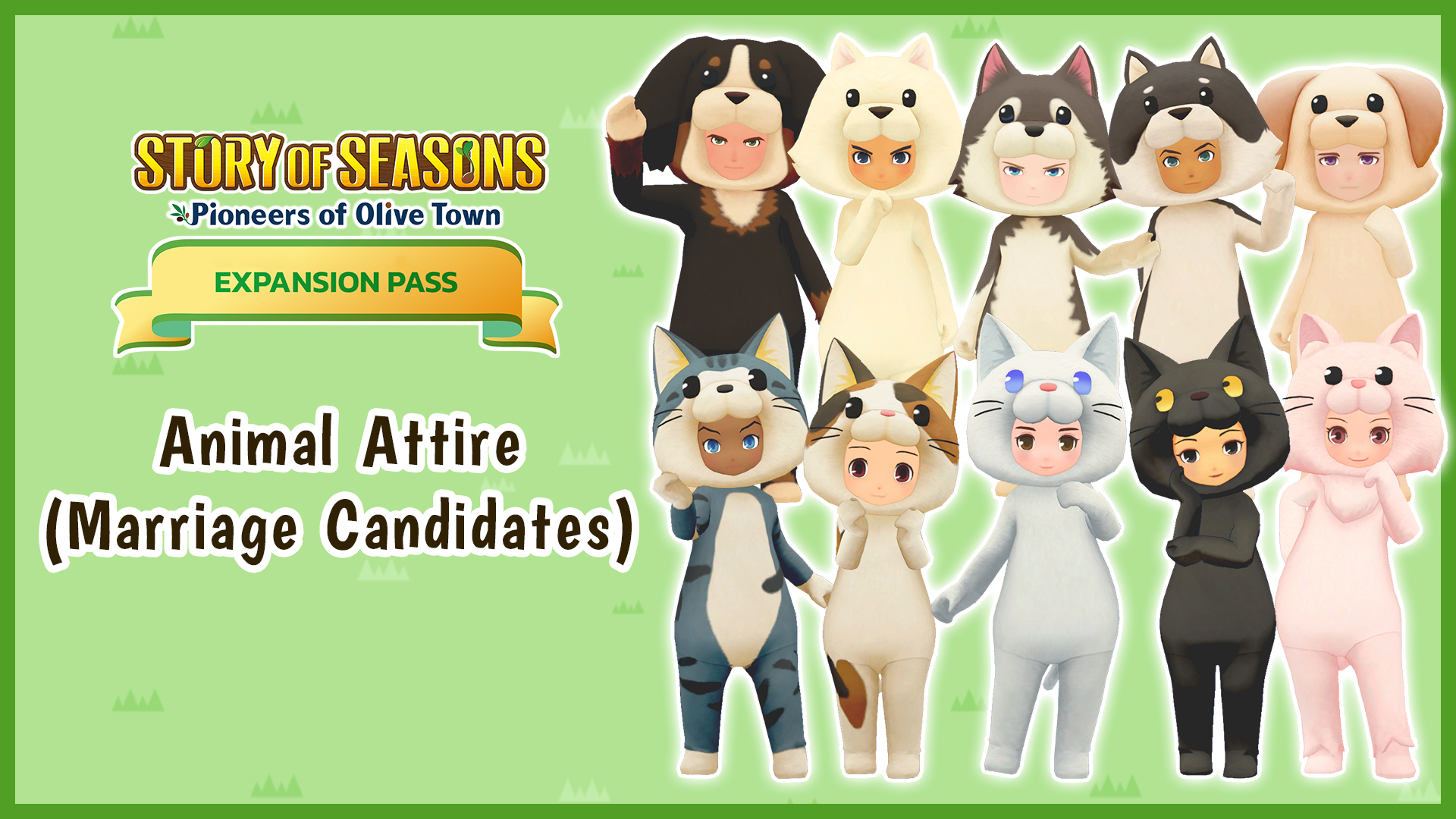 Animal Attire (Marriage Candidates)