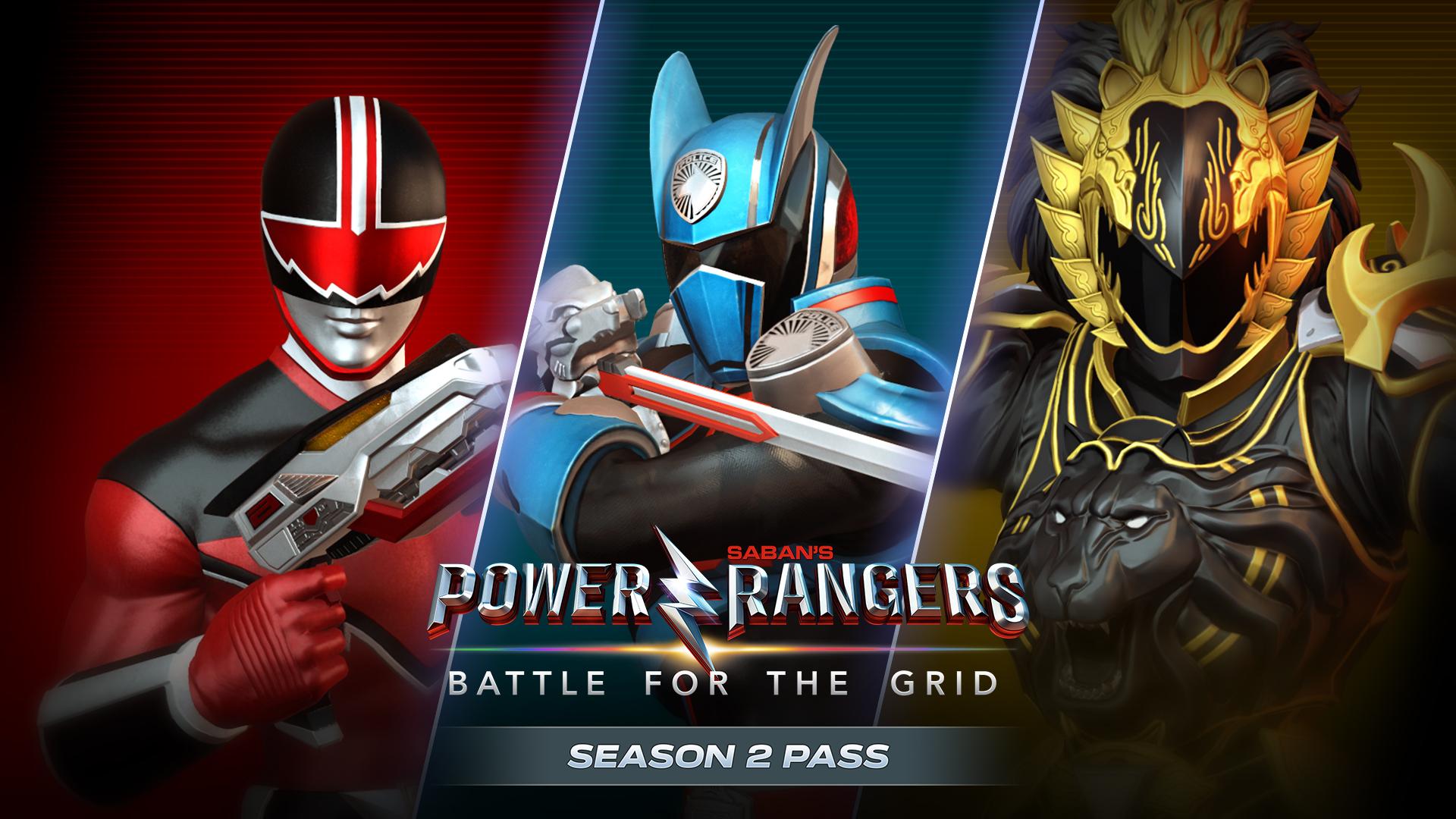 Power Rangers Battle For The Grid Season Two Pass Power Rangers