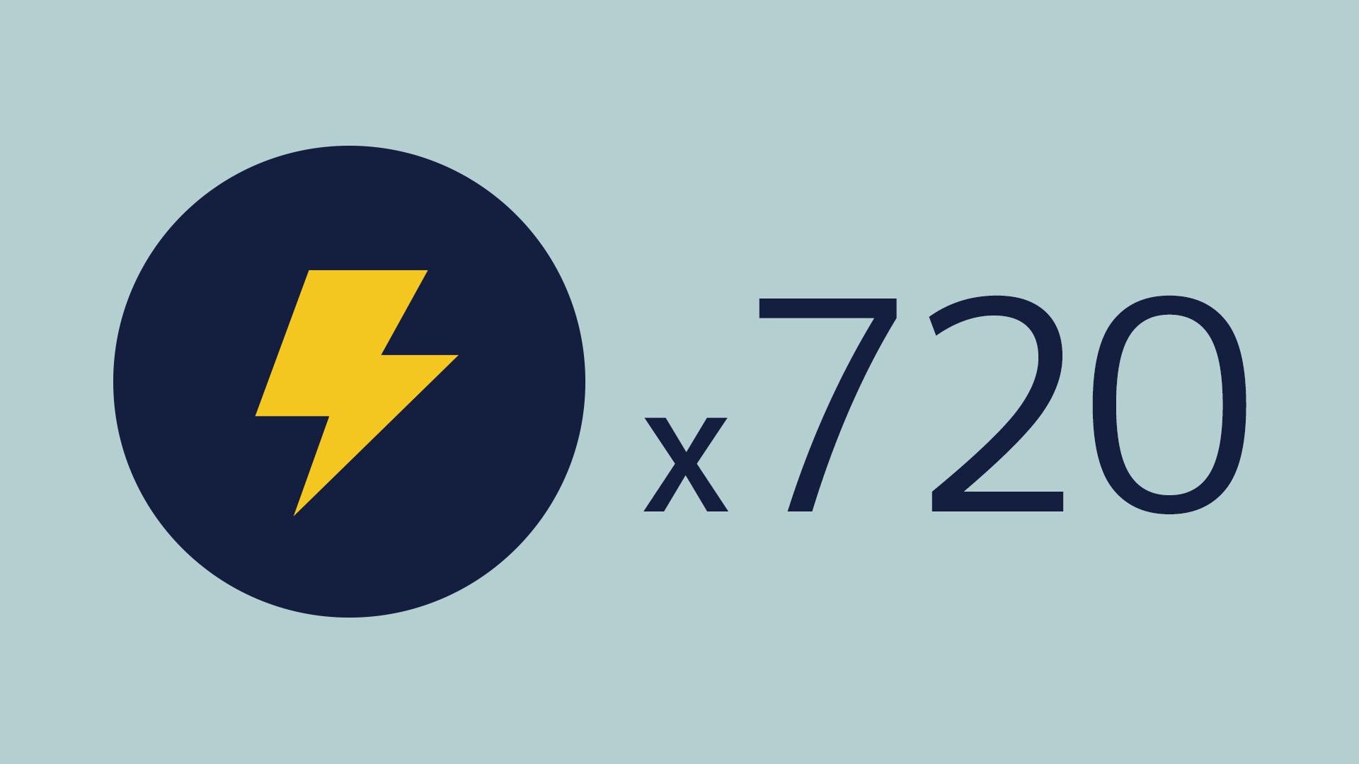 720 Lightnings