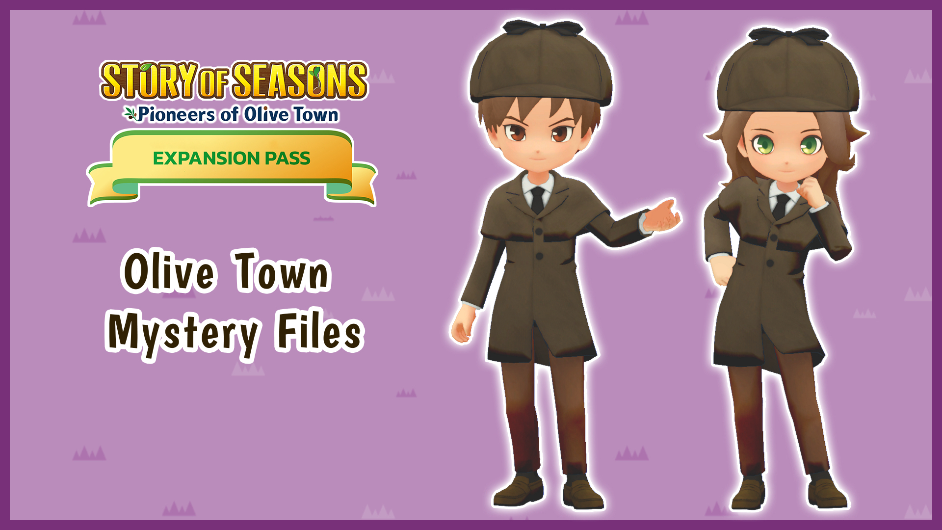 Olive Town Mystery Files