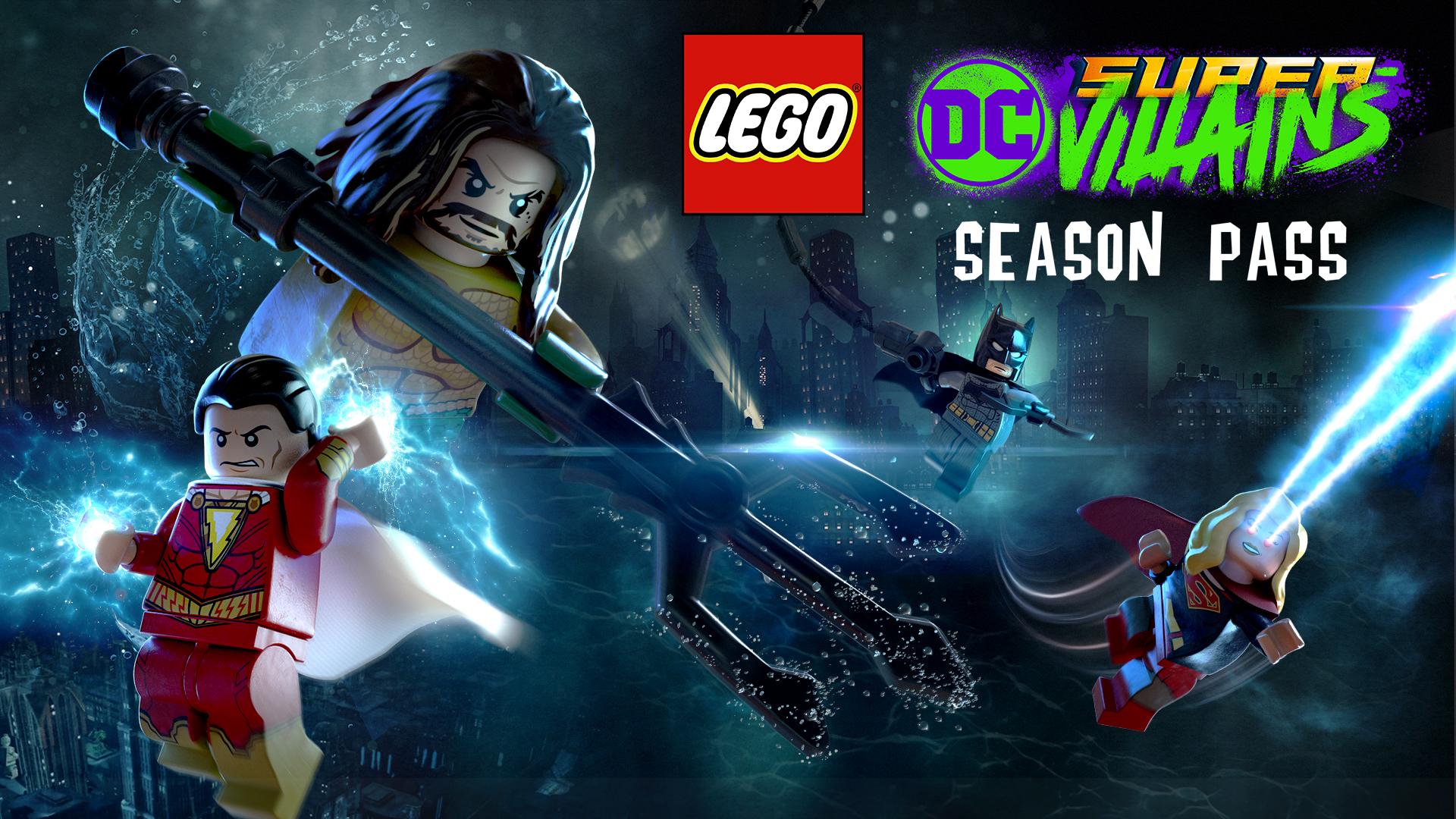 Lego Dc Super Villains Season Pass Nintendo Switch Nintendo