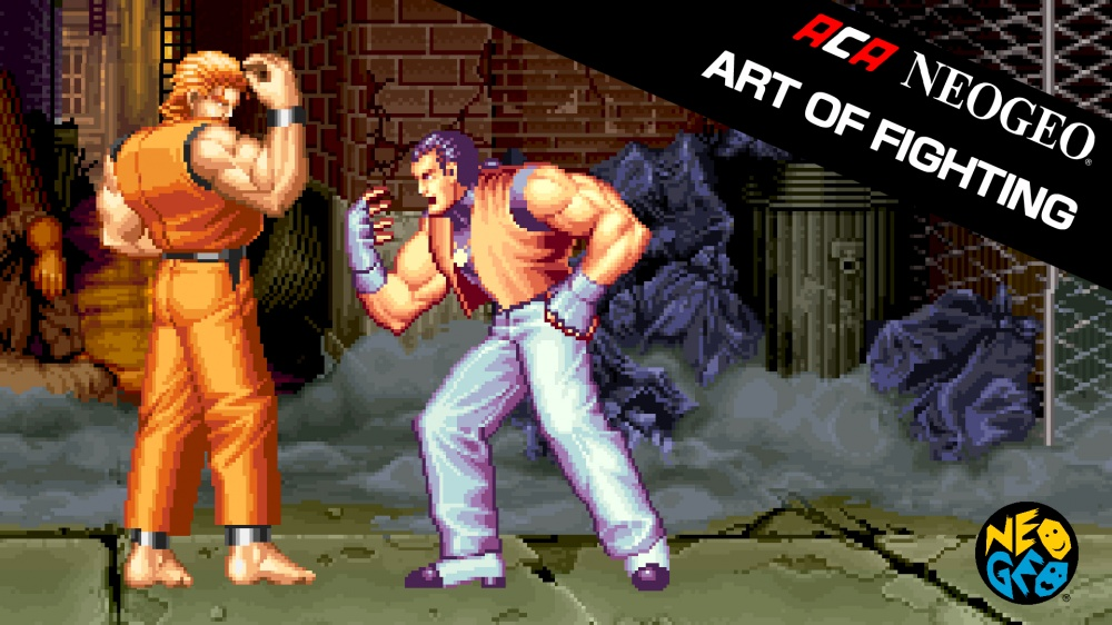 Aca Neogeo Art Of Fighting Nintendo Switch Eshop Download