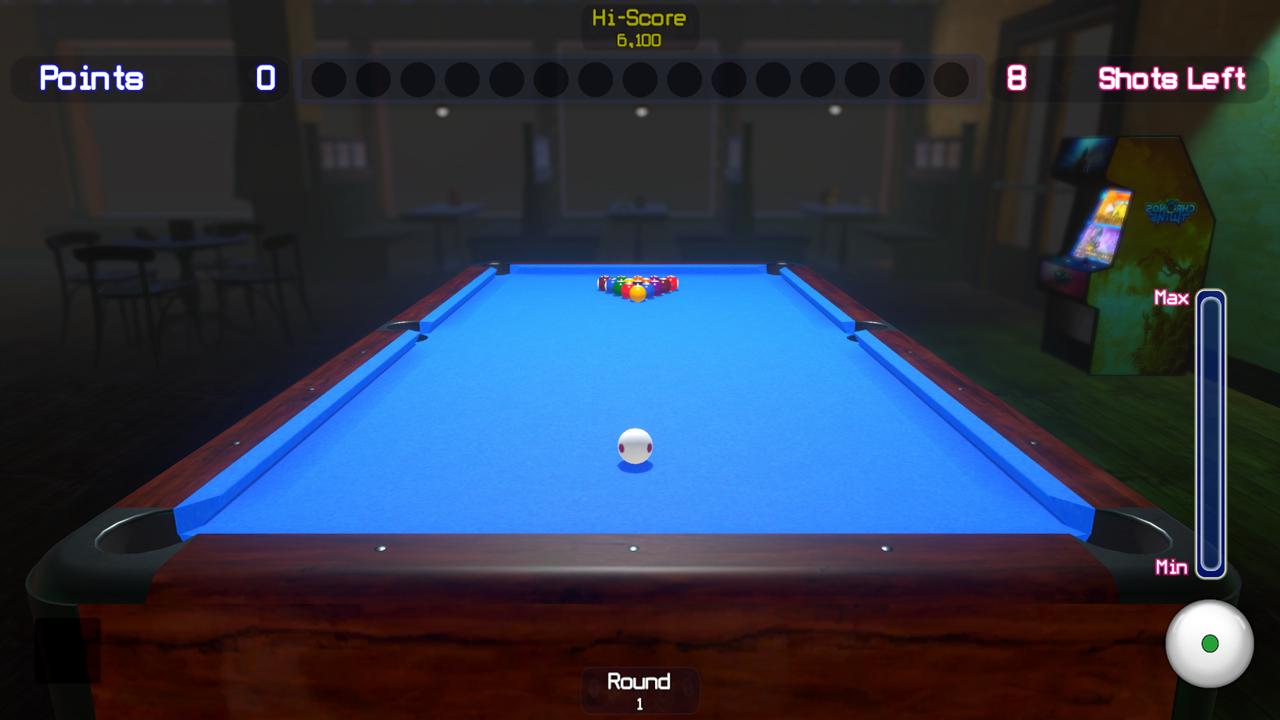 8-Ball Pocket