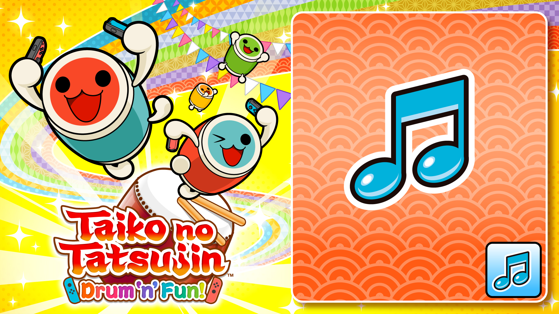 Taiko no Tatsujin: Drum 'n' Fun! 20th Anniversary! Generations Theme Song Pack