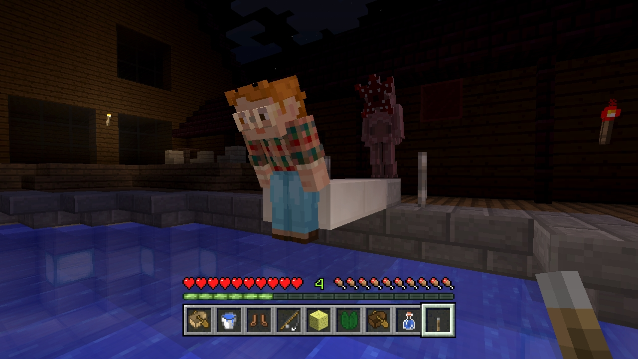 Stranger Things Skin Pack /Minecraft: Nintendo Switch