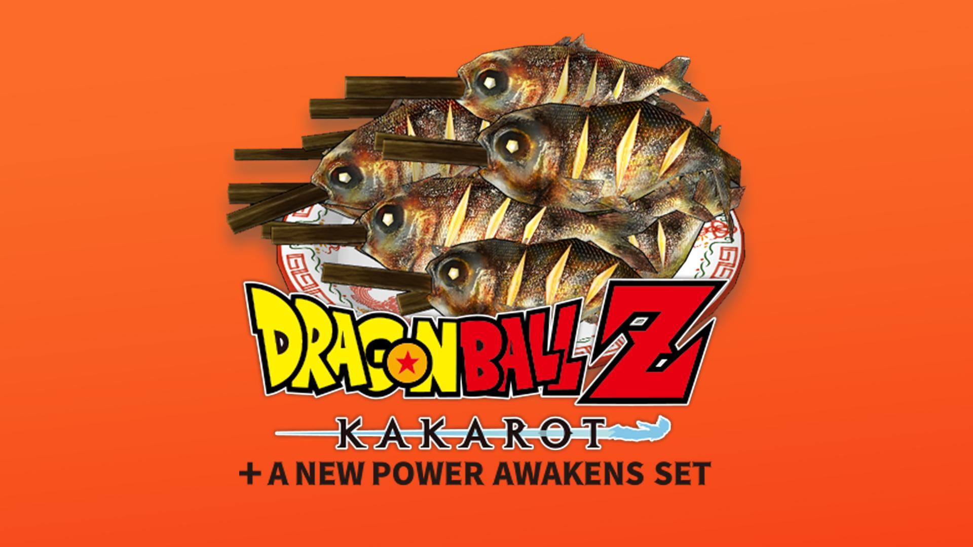 DRAGON BALL Z: KAKAROT + A NEW POWER AWAKENS SET Steaming-Hot Grilled Fish