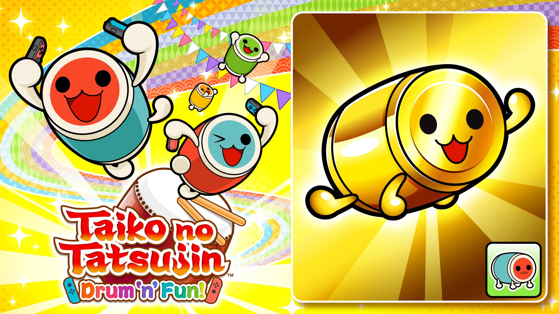 Taiko no Tatsujin: Drum 'n' Fun! Gold DON-chan