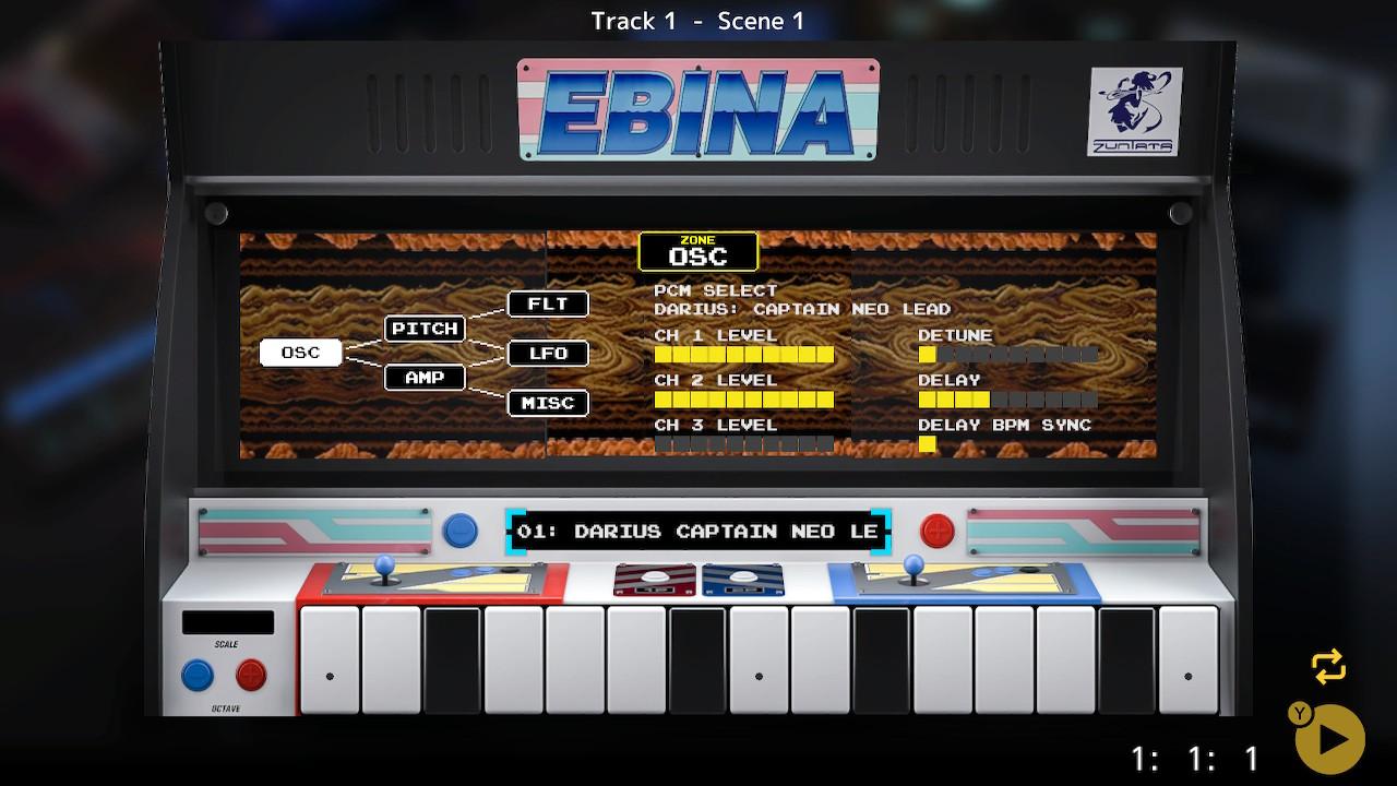 EBINA / KORG gadget additional gadget