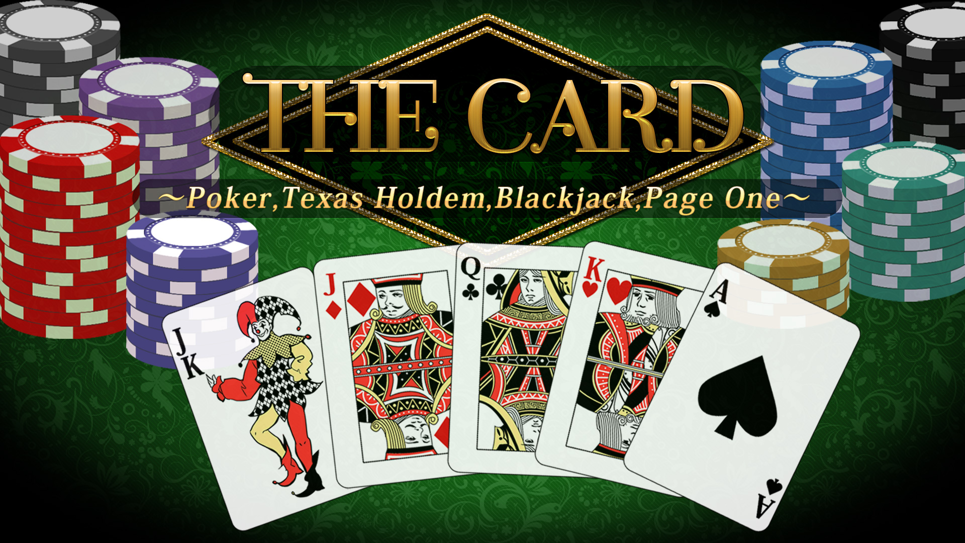 THE Card: Poker, Texas hold 'em, Blackjack and Page One/Nintendo  Switch/eShop Download