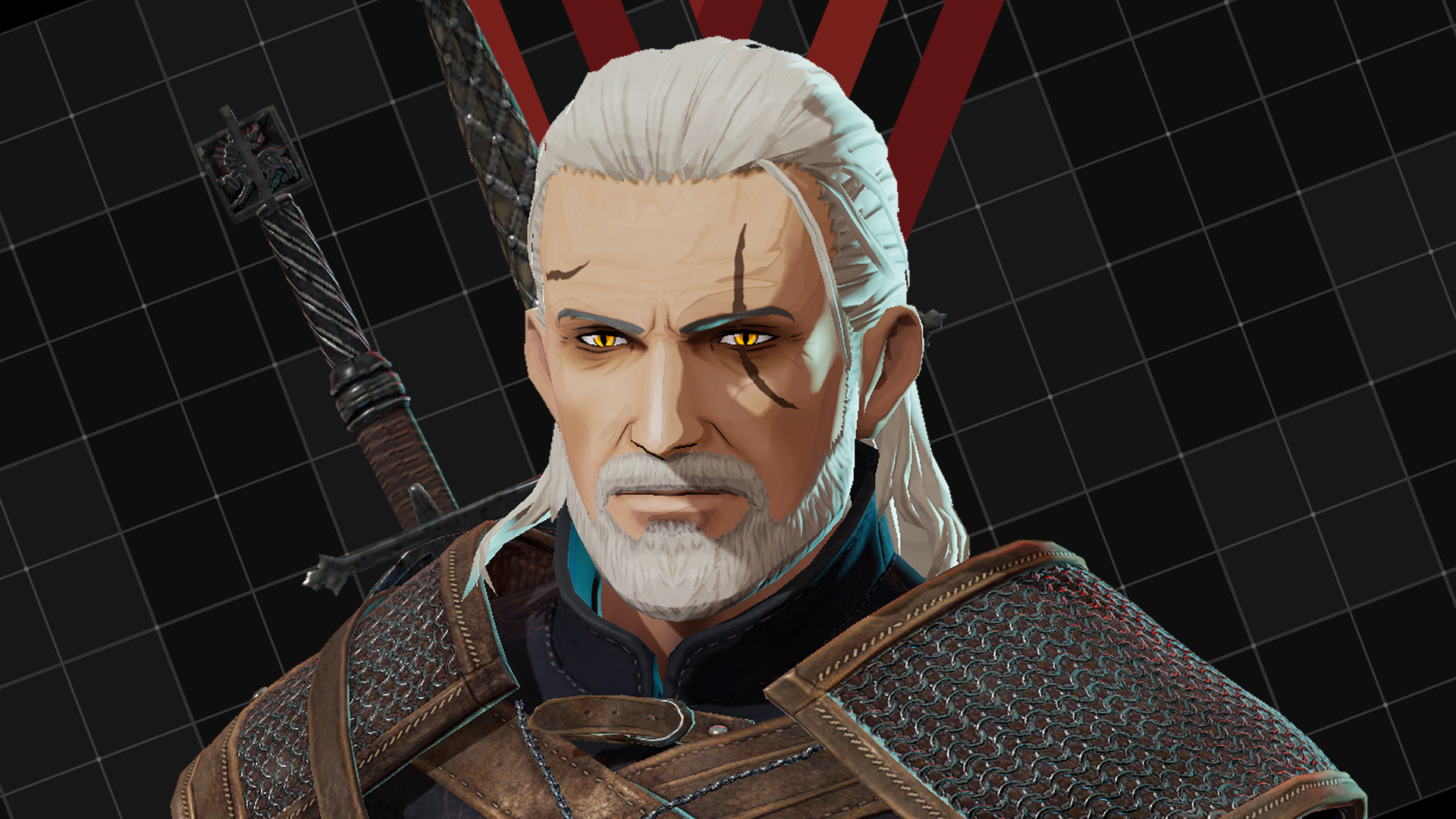 "Edit part for Outer ""Geralt's Hairstyle"""