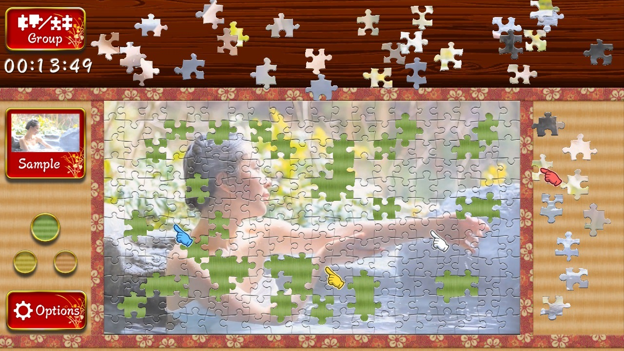 Animated Jigsaws: Japanese Women