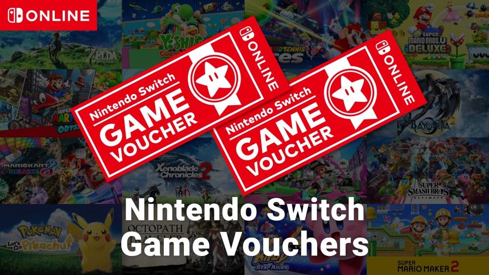 Nintendo Switch Game Vouchers/Nintendo